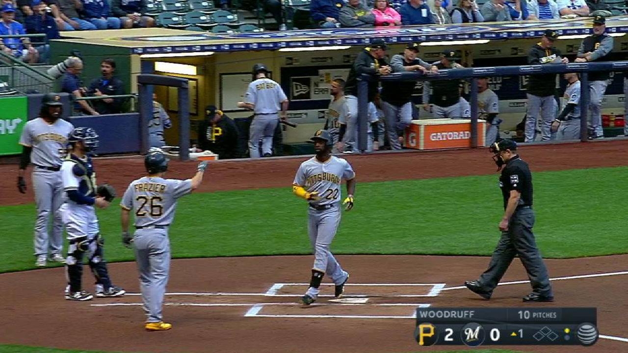 McCutchen's two-run home run