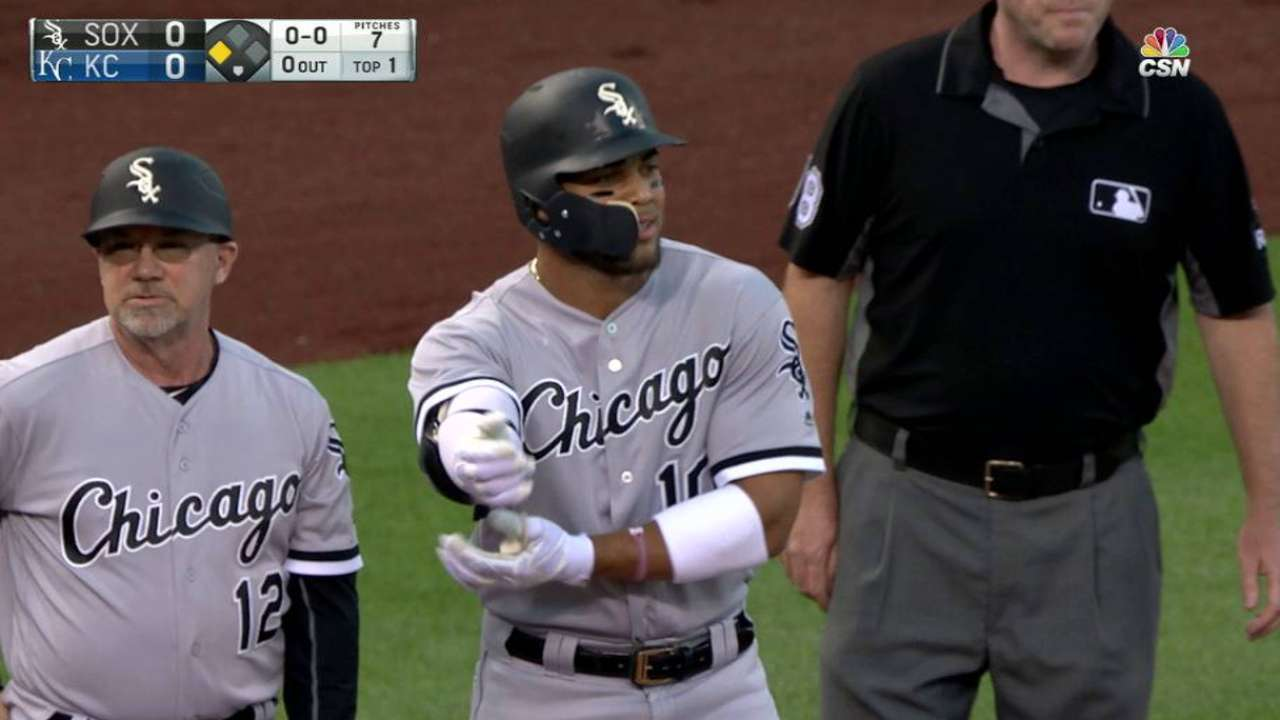 Moncada's early RBI triple