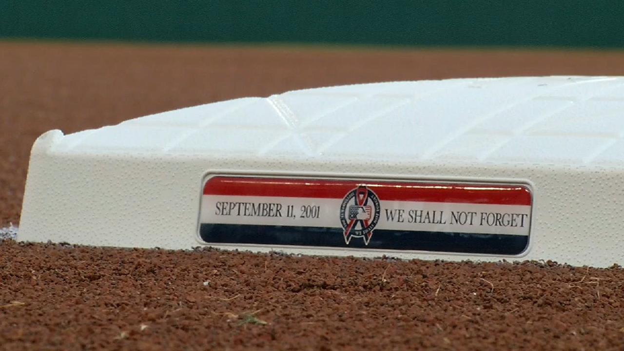 Rangers' 9/11 tribute
