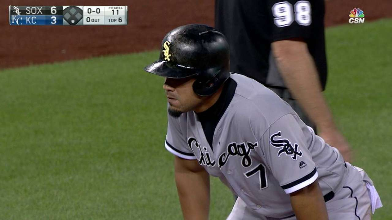 Abreu drills RBI triple