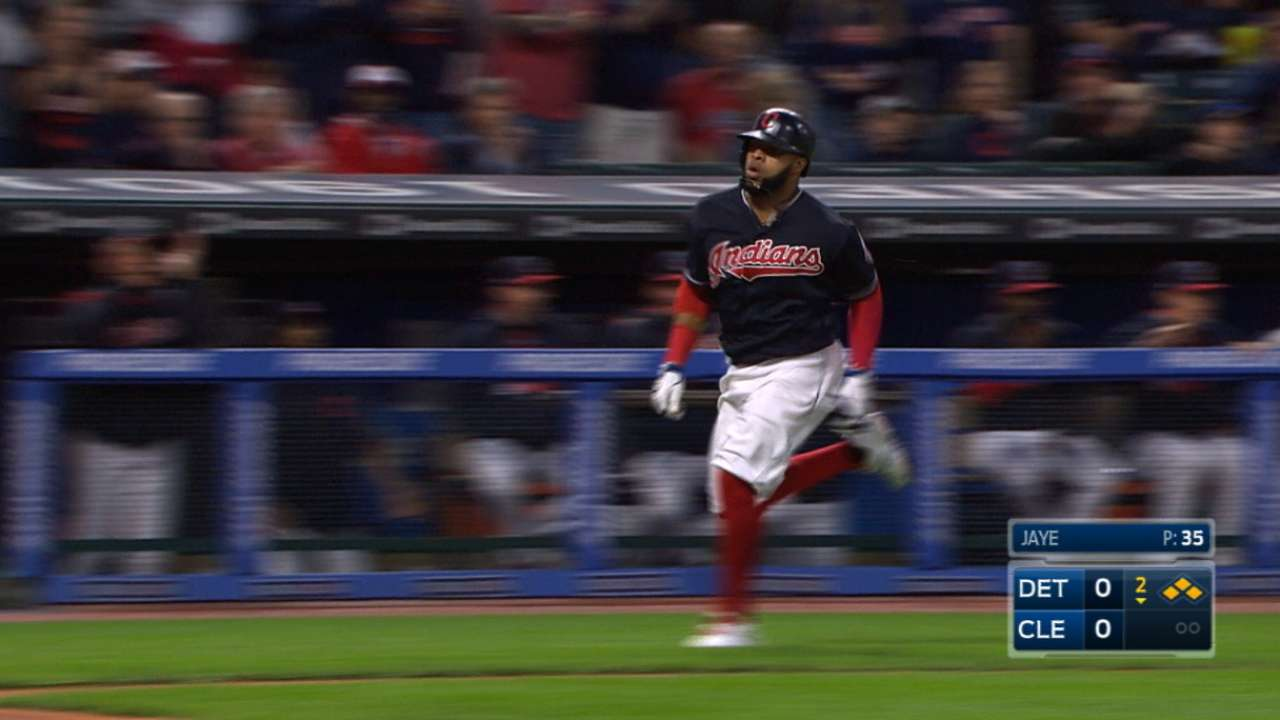 Indians' five-run 2nd inning