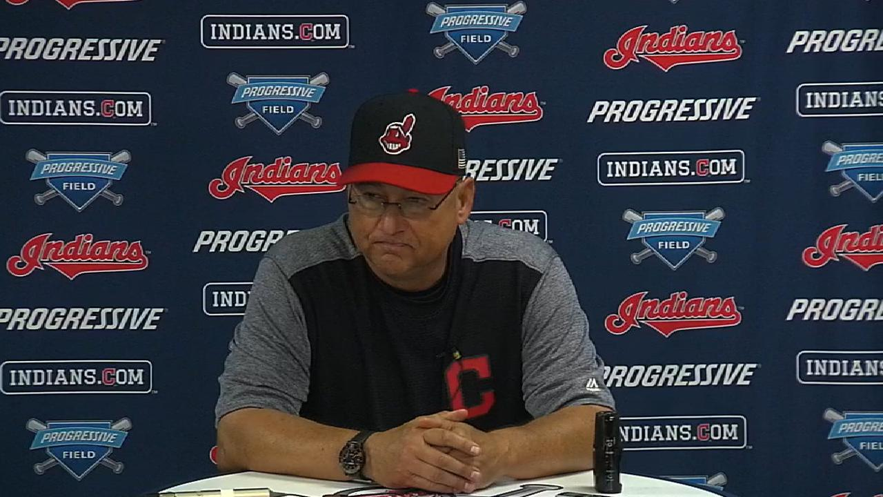 Francona on another Indians win