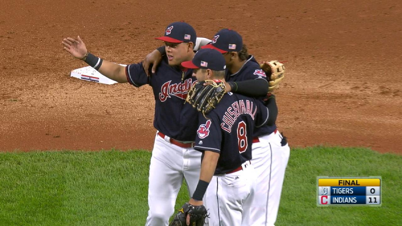 Indians on 19-game win streak