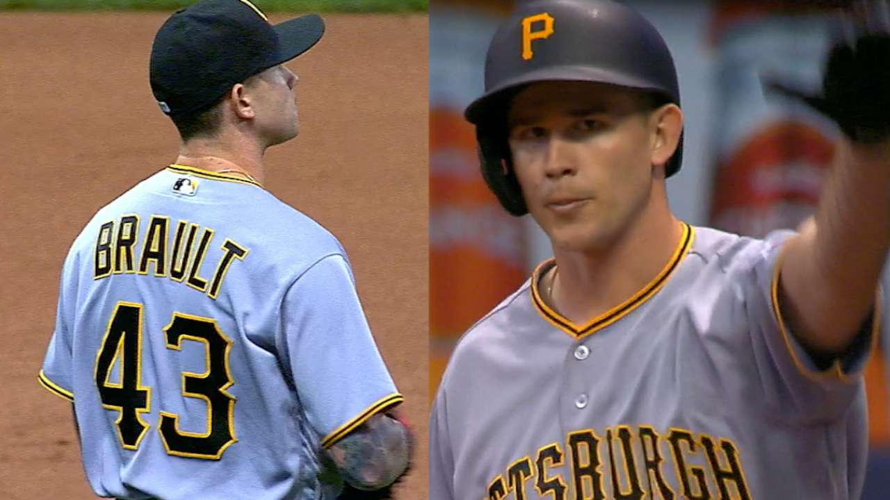 Brault does it all during 'impressive night'