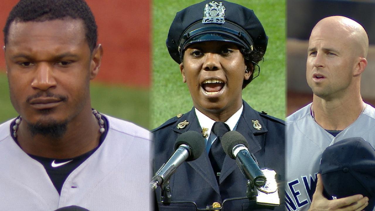 Never forget: 9/11 ceremonies held around MLB