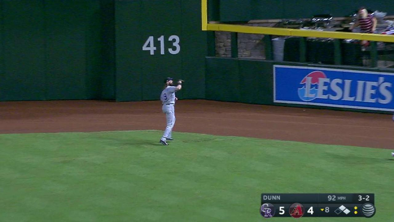 Dunn ends threat in 8th