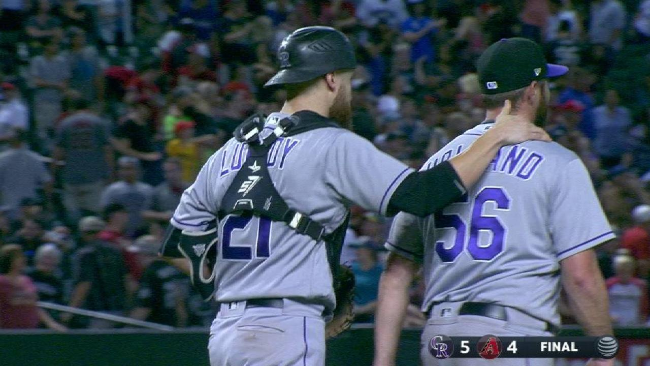 Holland secures 40th save