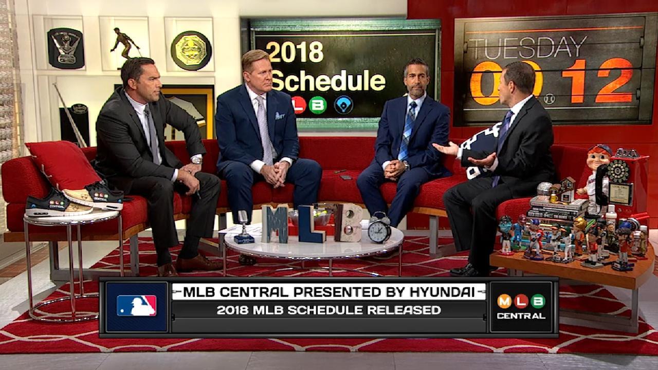 MLB Central: 2018 Schedule