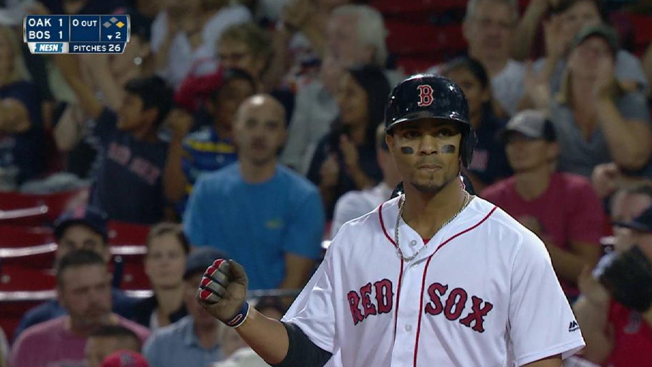 Bogaerts knots it up in the 2nd