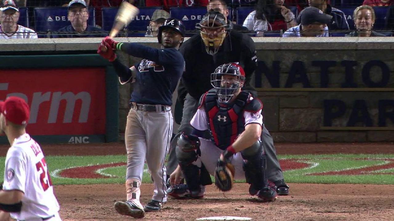 Albies' solo home run