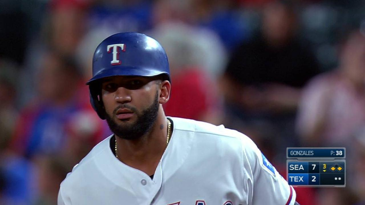 Rangers drubbed by Mariners; fall 3 back in WC
