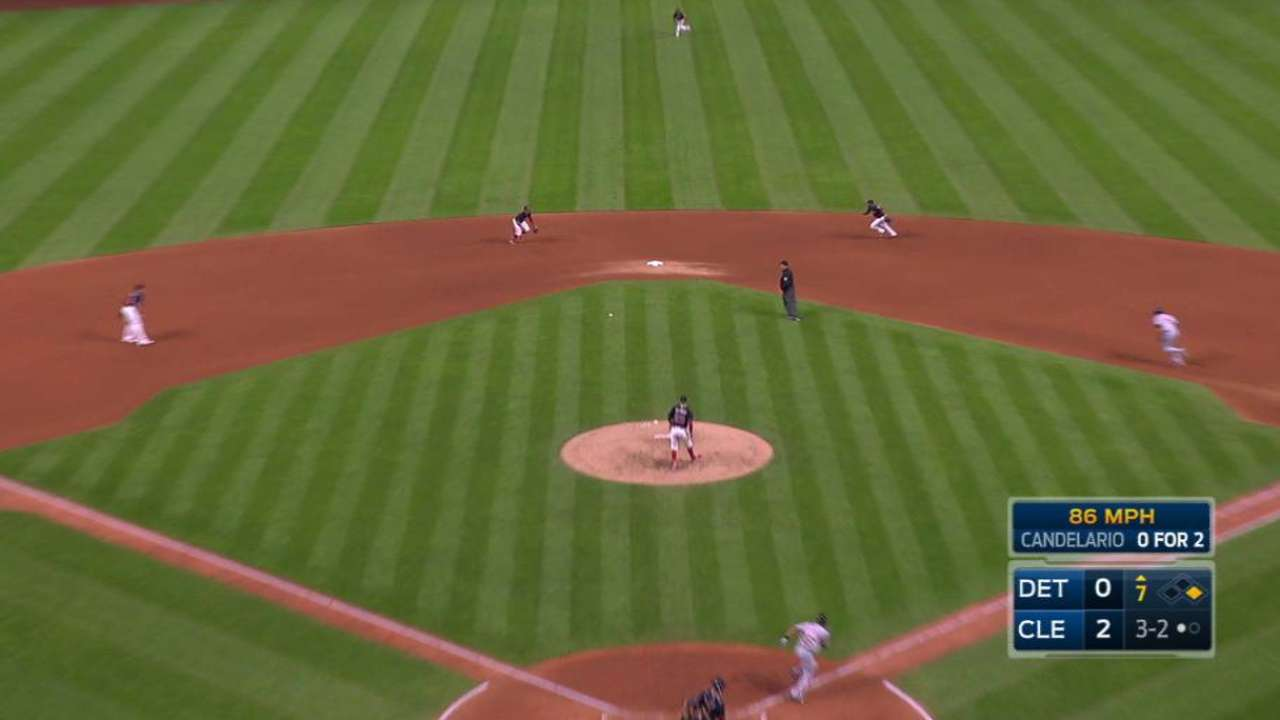 Lindor starts DP to end 7th