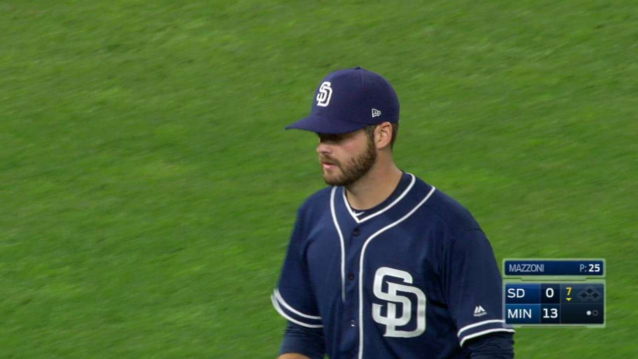 Mazzoni earns first K since 2015