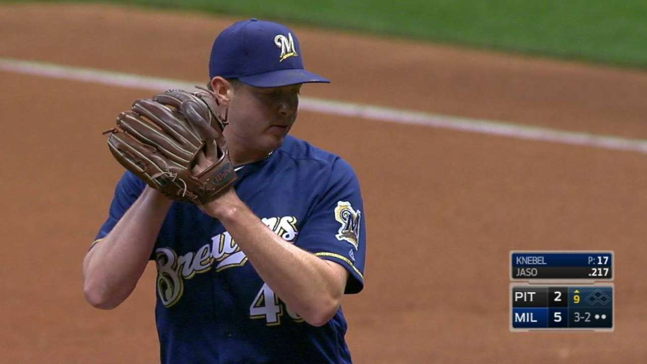 Knebel tallies 35th save