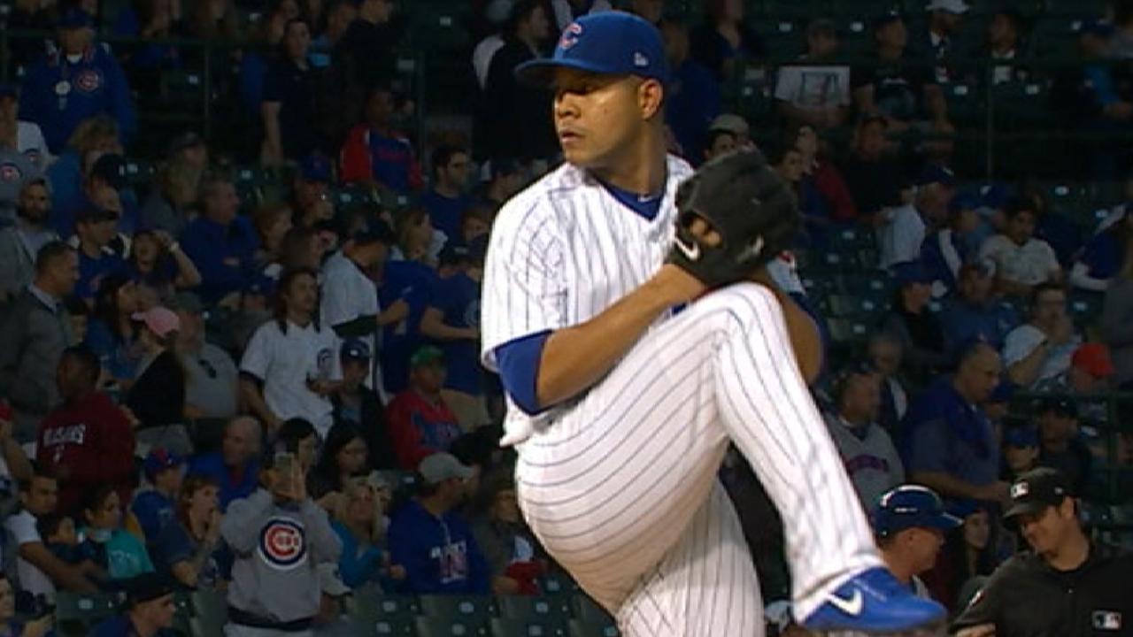 Quintana's strong start vs. Mets