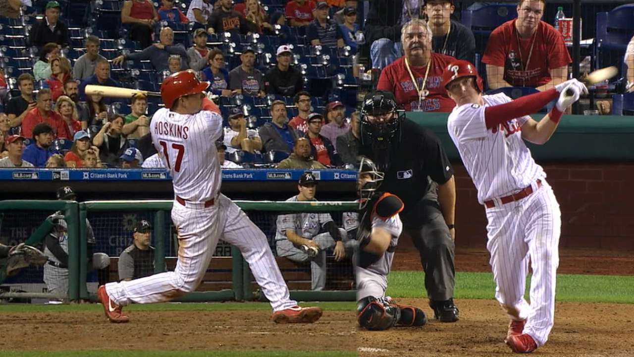 Hoskins' hot hitting out of this world