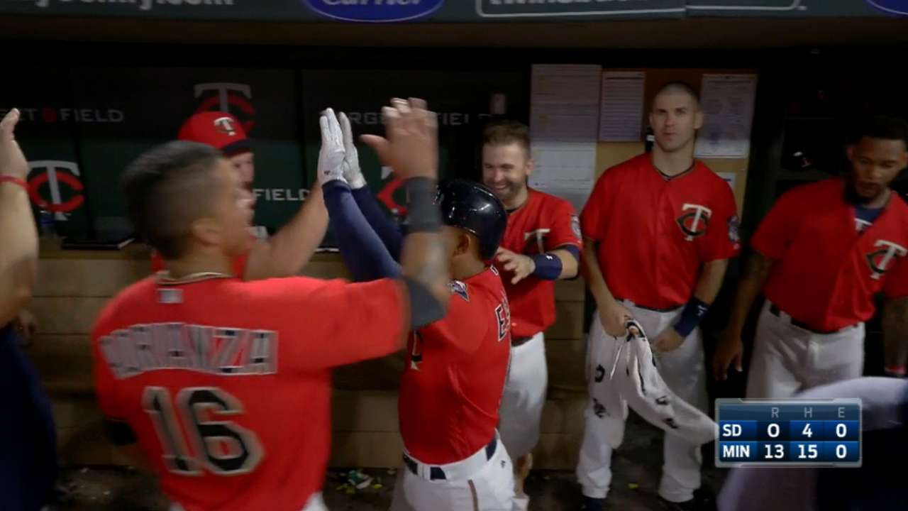 Twins set an MLB home run record