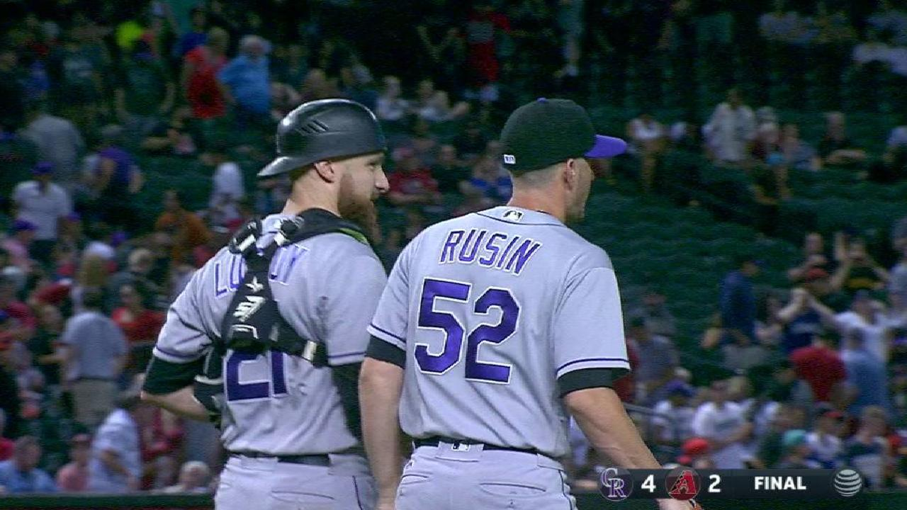 Rusin locks down the save