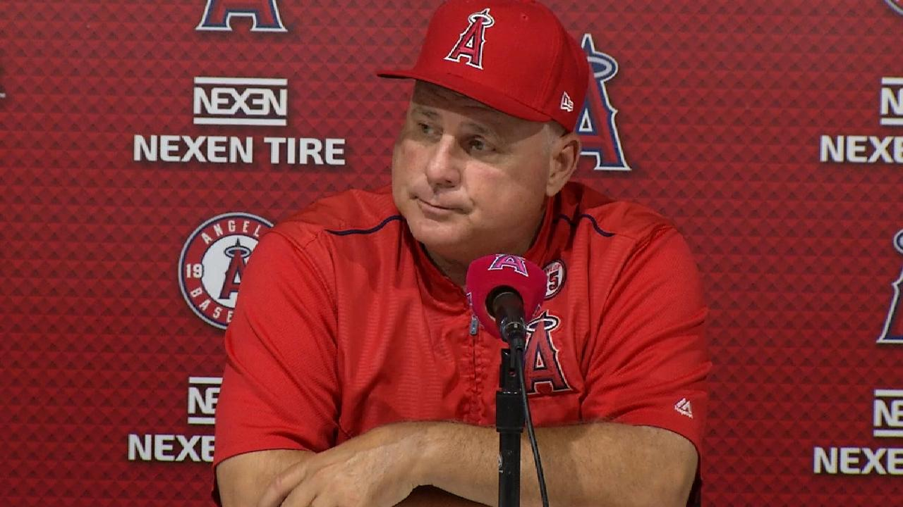 Scioscia on shutout loss