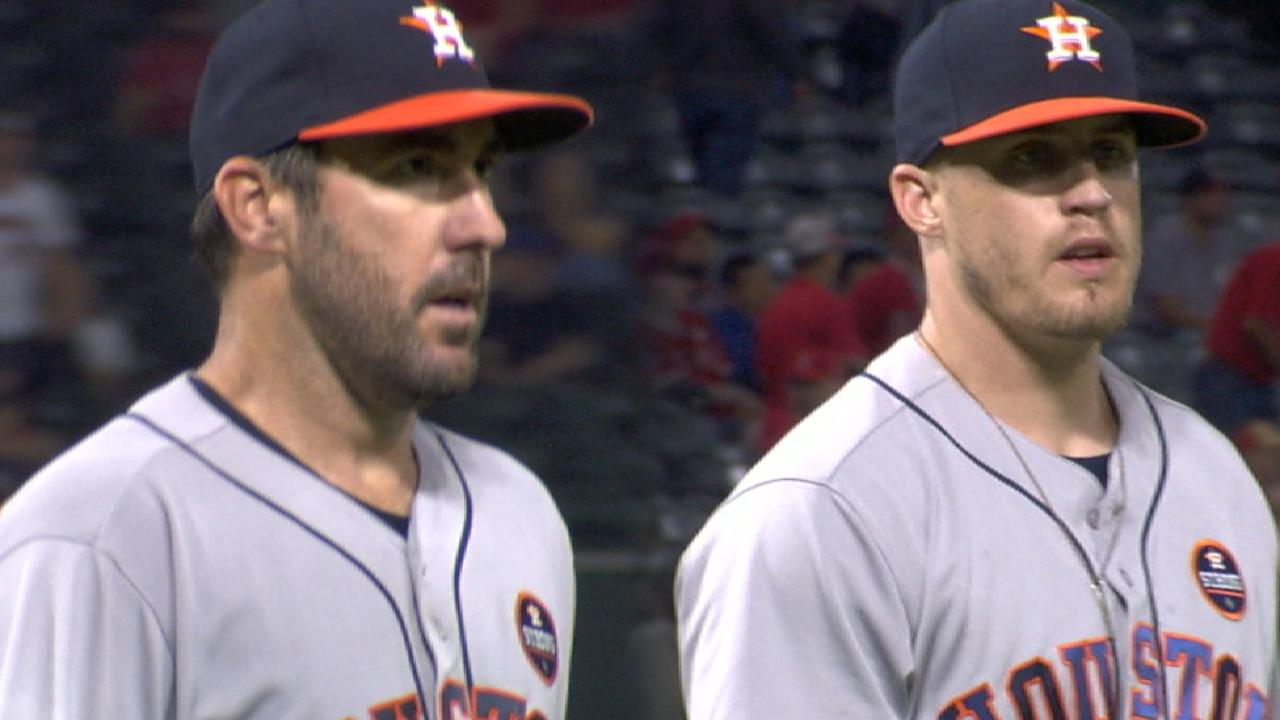 Verlander cruises, holds Halos to 1 hit in 8 IP