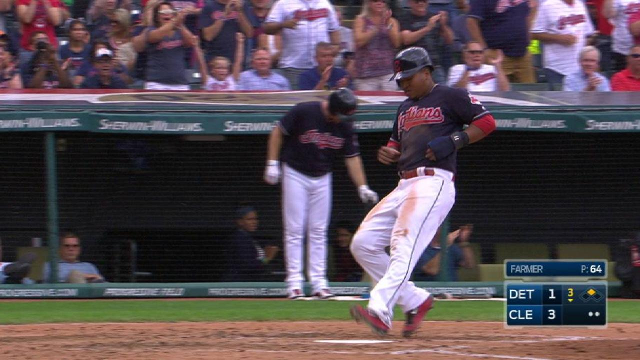 Encarnacion's RBI single