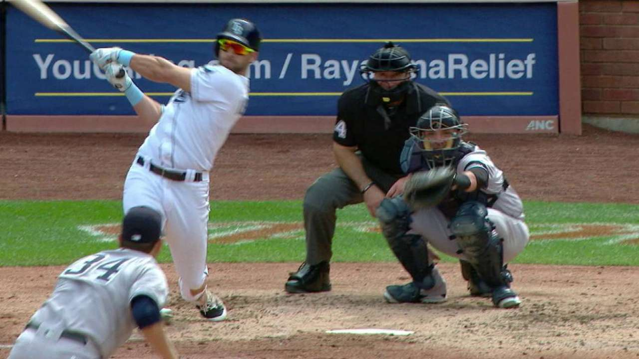 Kiermaier's solo home run