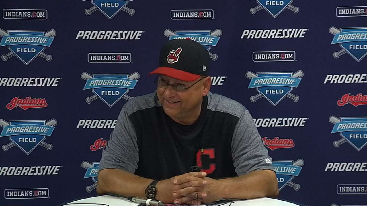 Francona on 21st straight win