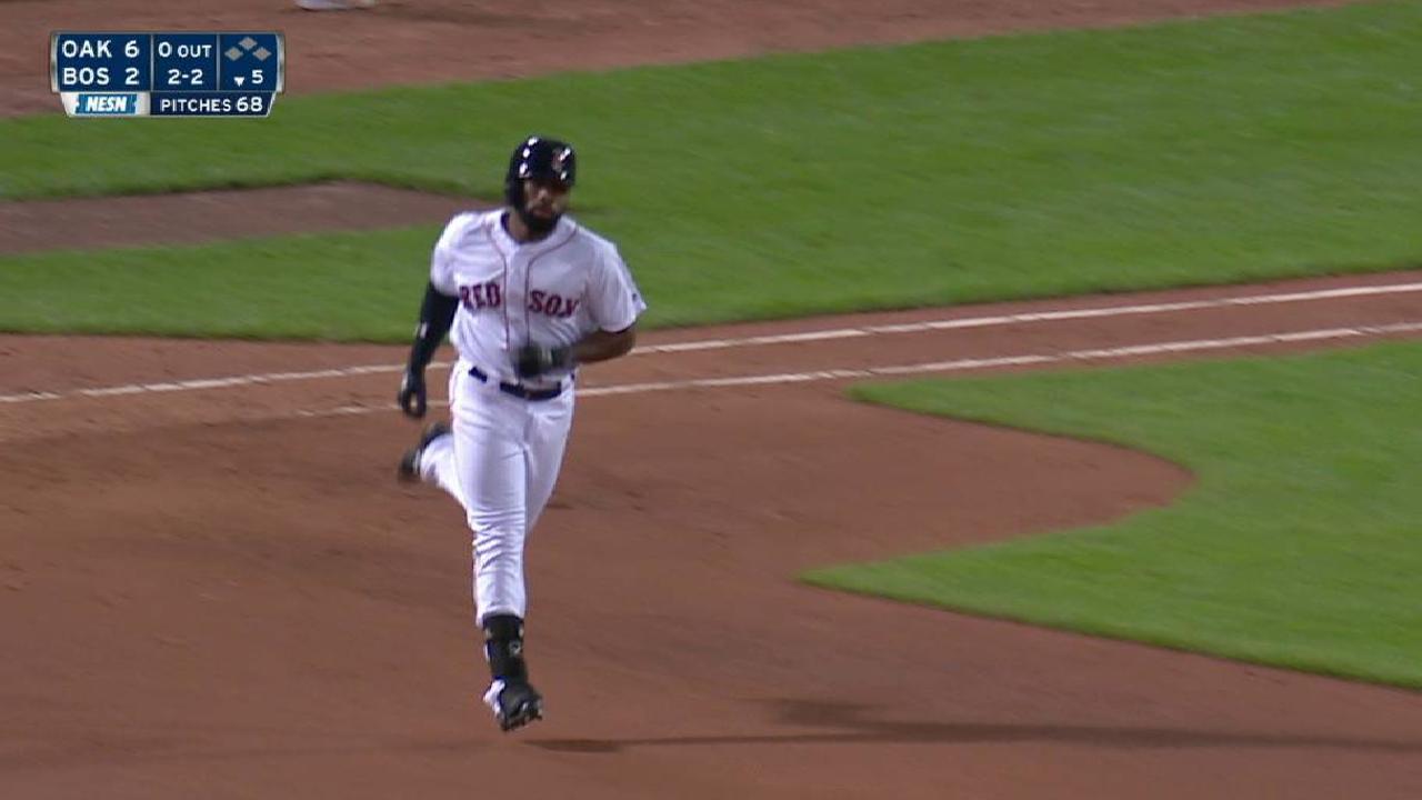 Bradley Jr.'s solo homer