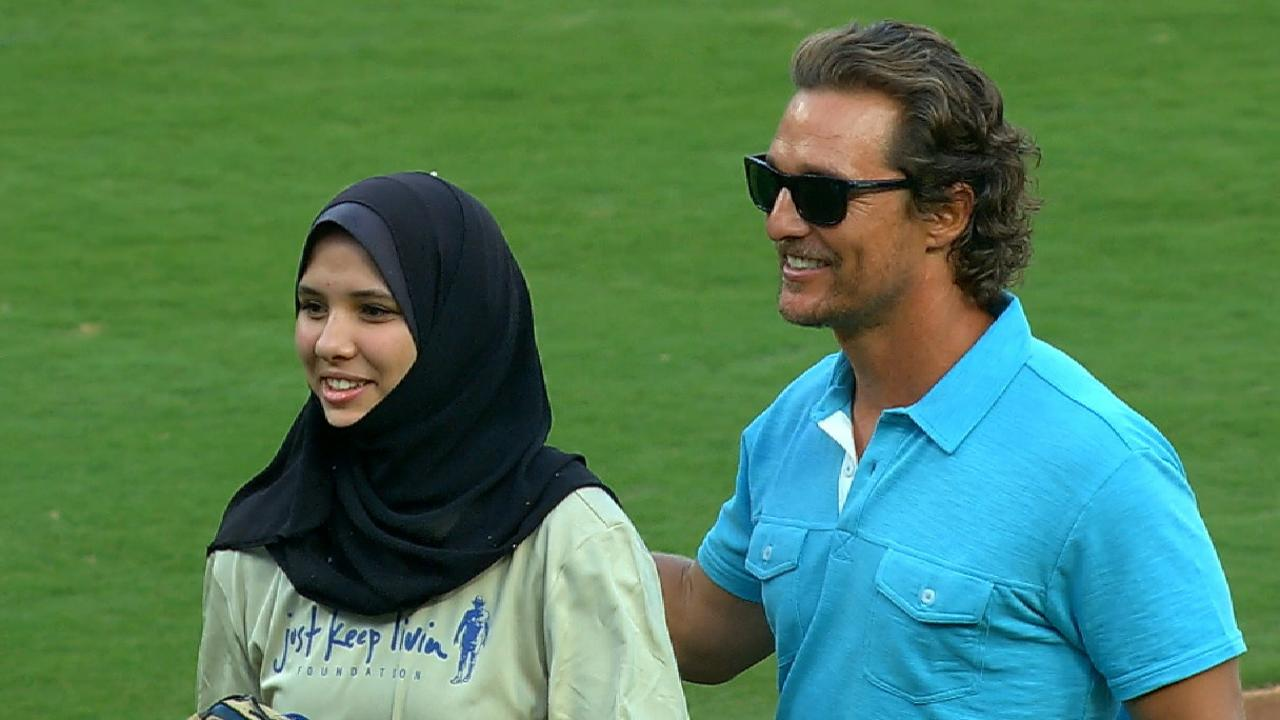 McConaughey visits local high schoolers