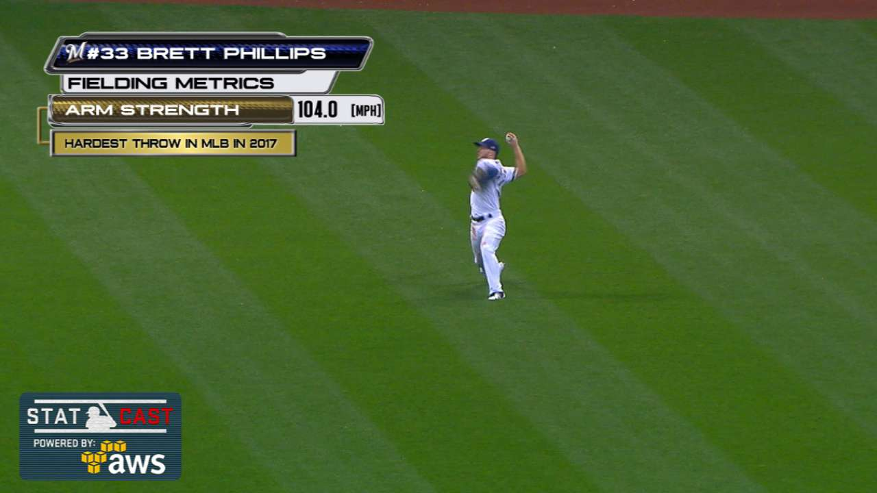 Statcast: Phillips' 104-mph toss