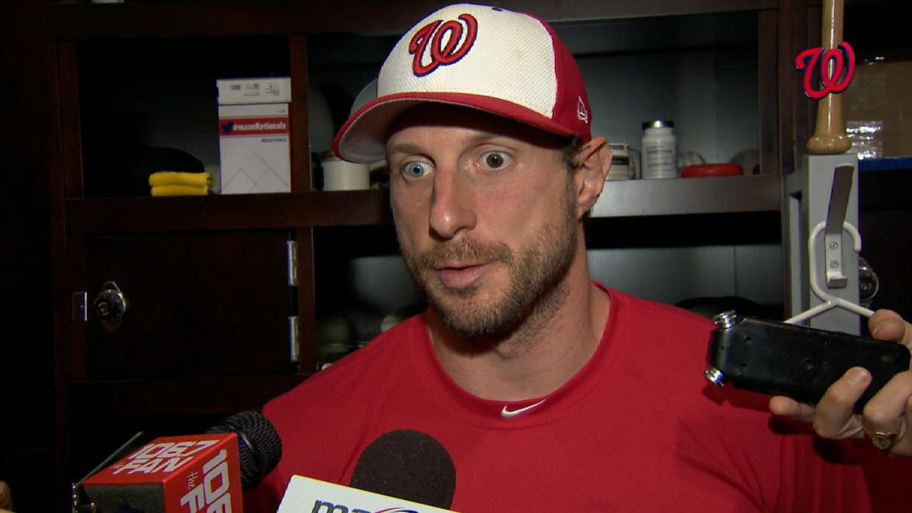 Scherzer stays in, sticks to plan to build stamina