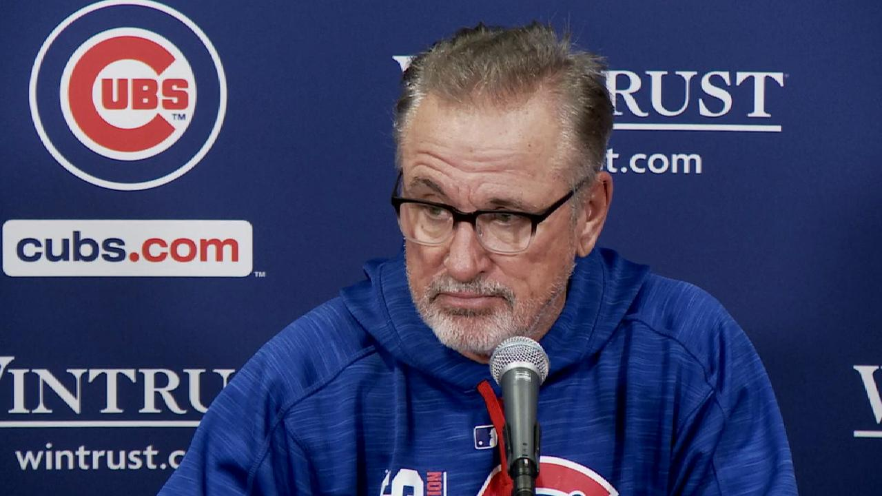 Maddon on huge offensive day