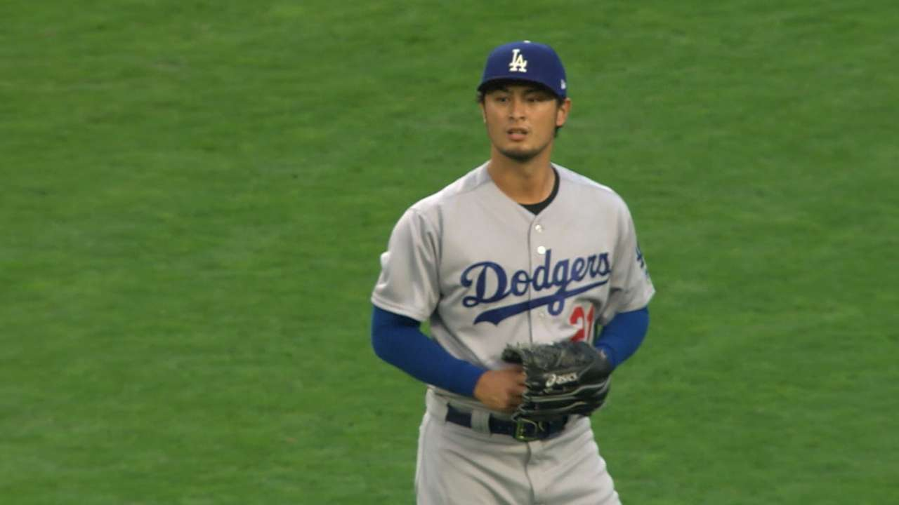 Darvish's scoreless start