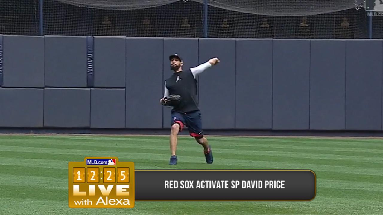 Red Sox activate Price