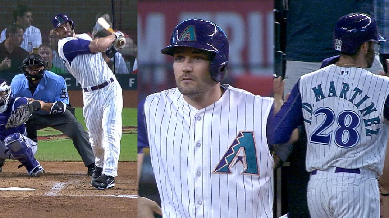 D-backs' five-run 1st inning