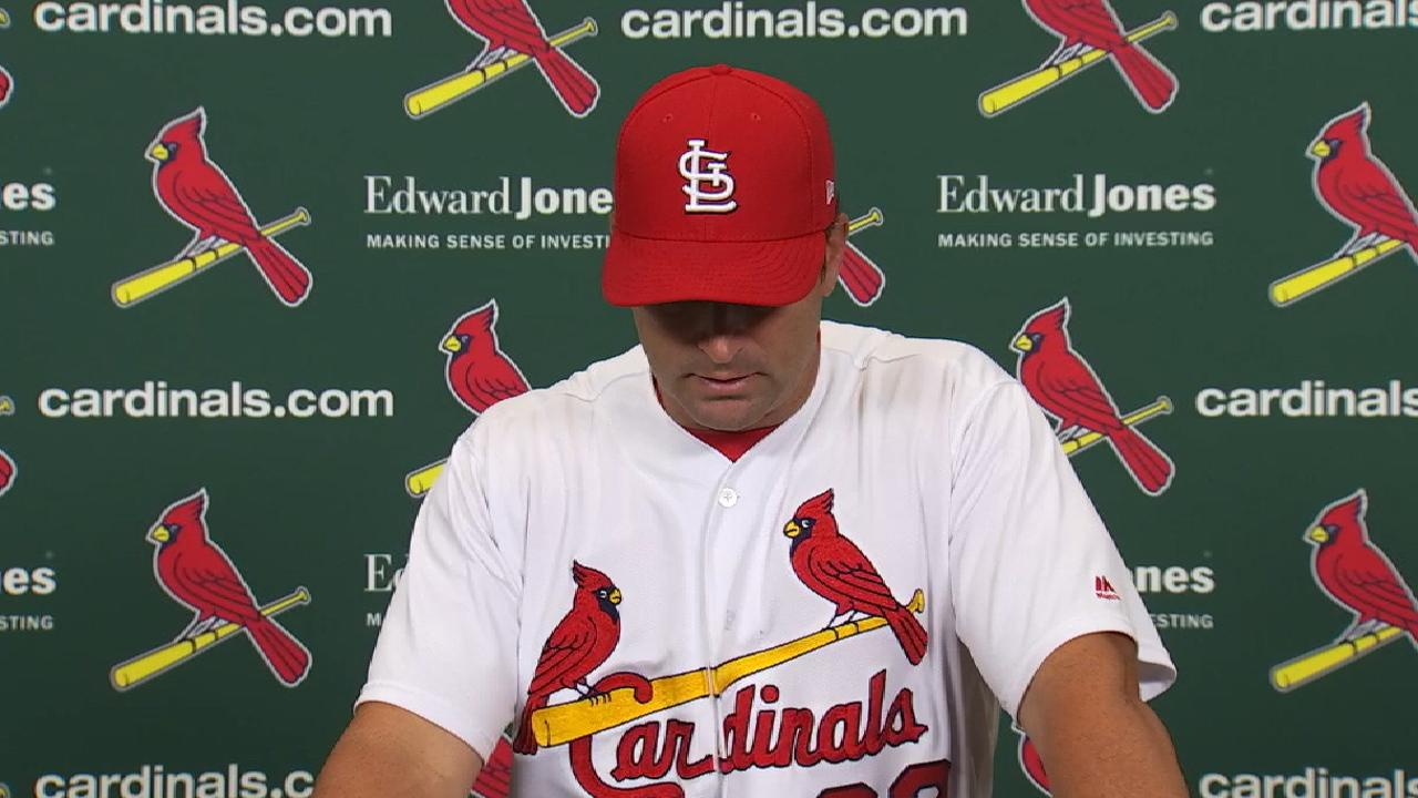 Matheny talks win over the Reds