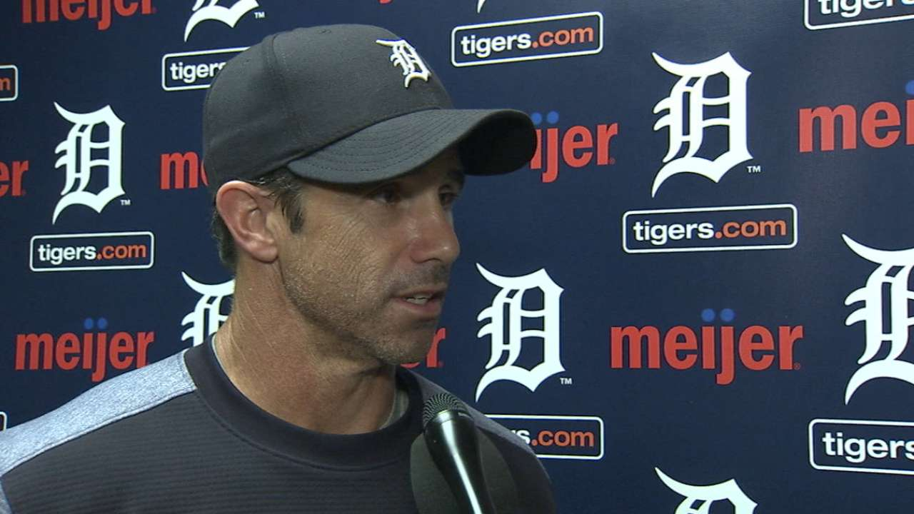 Ausmus on the Tigers' loss