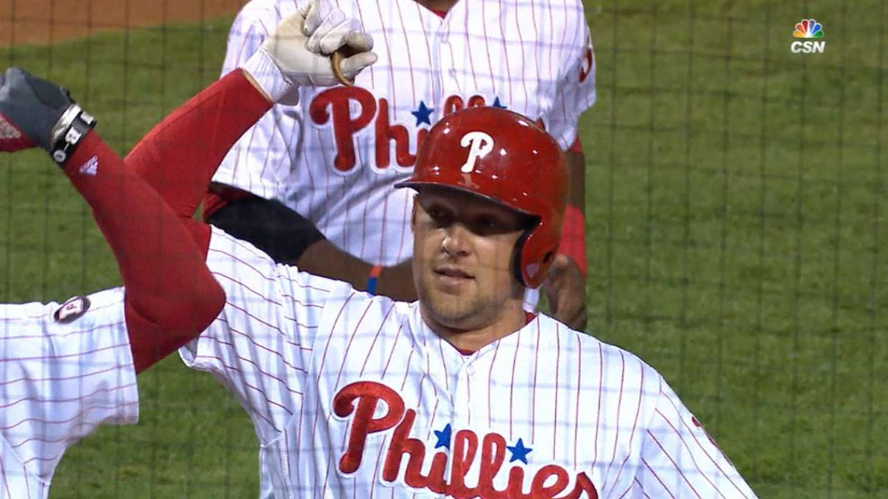 Hoskins' record 18 homers