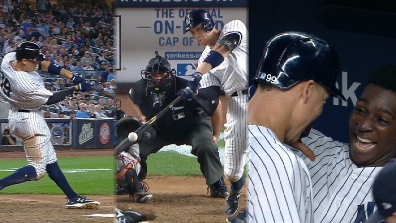 Aaron Judge se desata y Yankees aplastan a Orioles