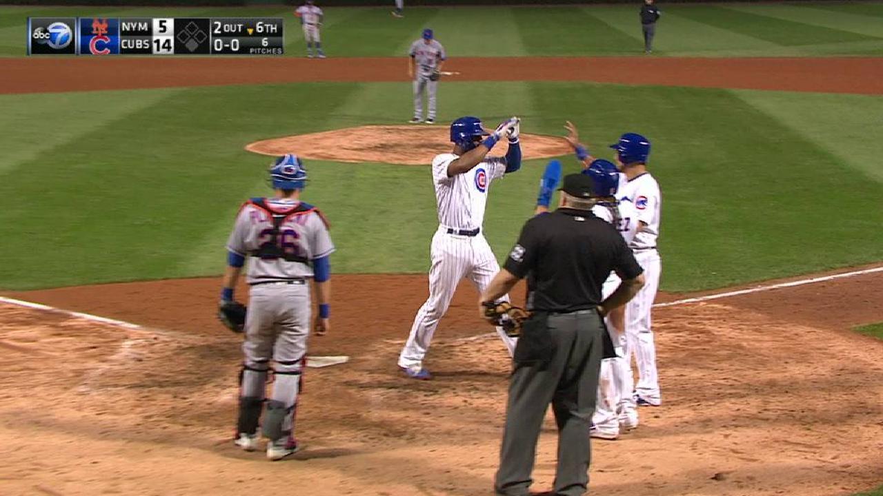 Heyward's three-run home run