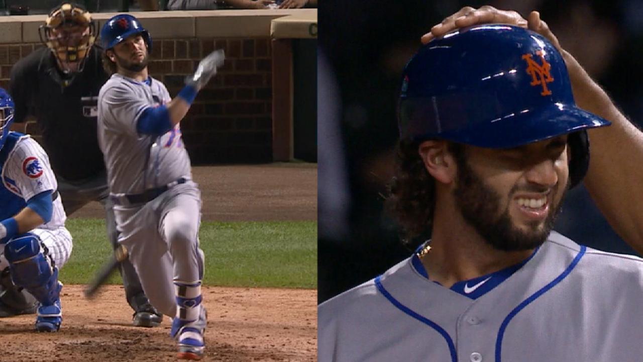 Nido's RBI single, first MLB hit