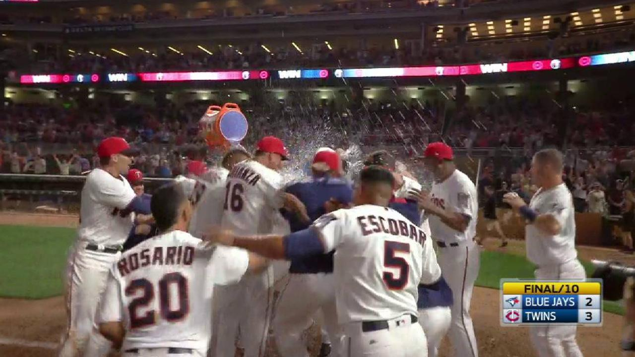 Buxton's walk-off home run