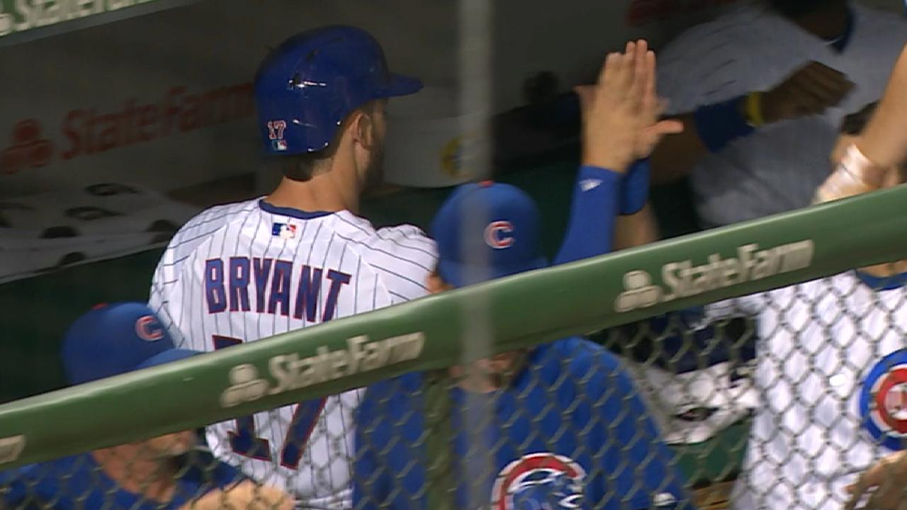 Cubs' five-run 4th inning