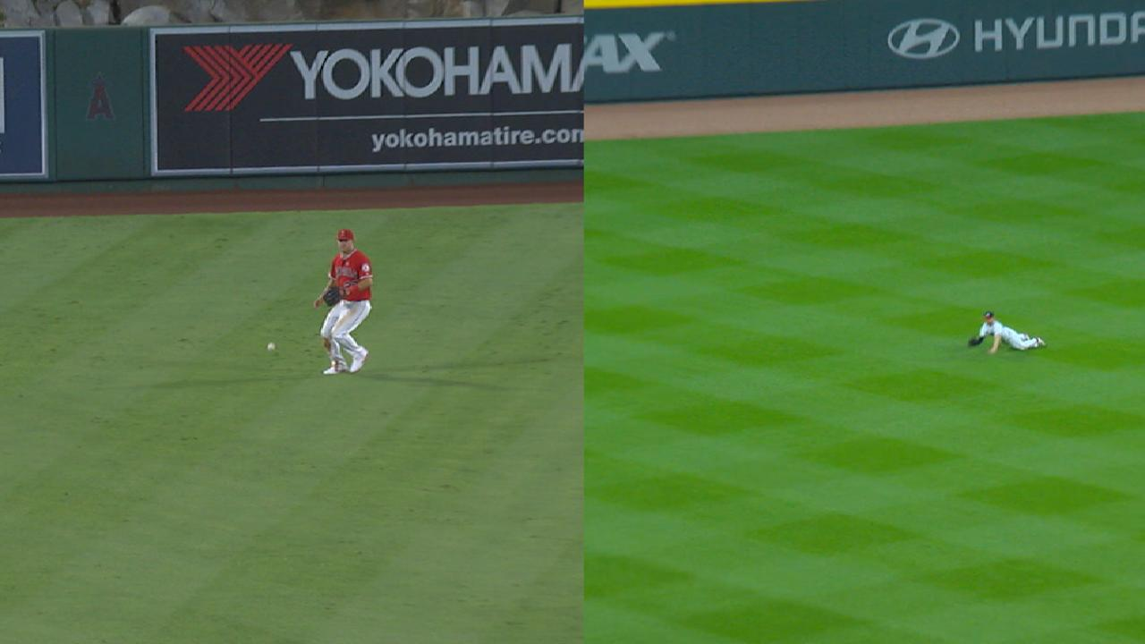 Statcast: Trout and Inciarte