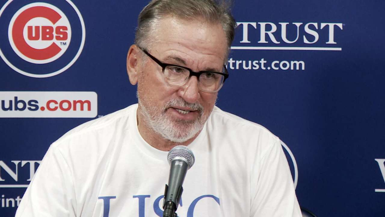 Maddon on Cubs' 8-2 win