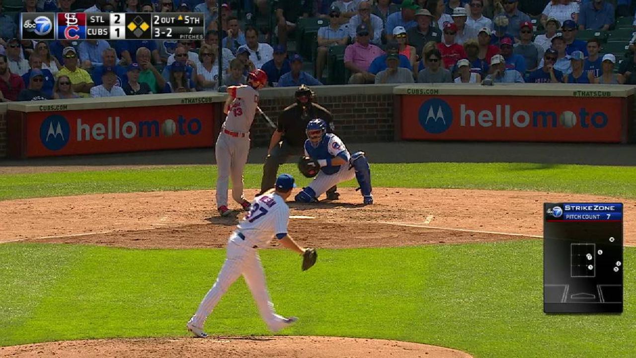 Wilson strikes out Carpenter