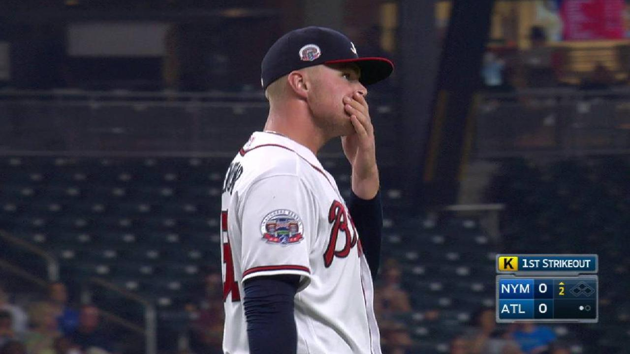 Newcomb's 2nd-inning K
