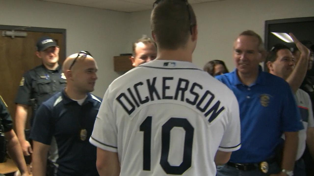 Dickerson gives back to Tampa