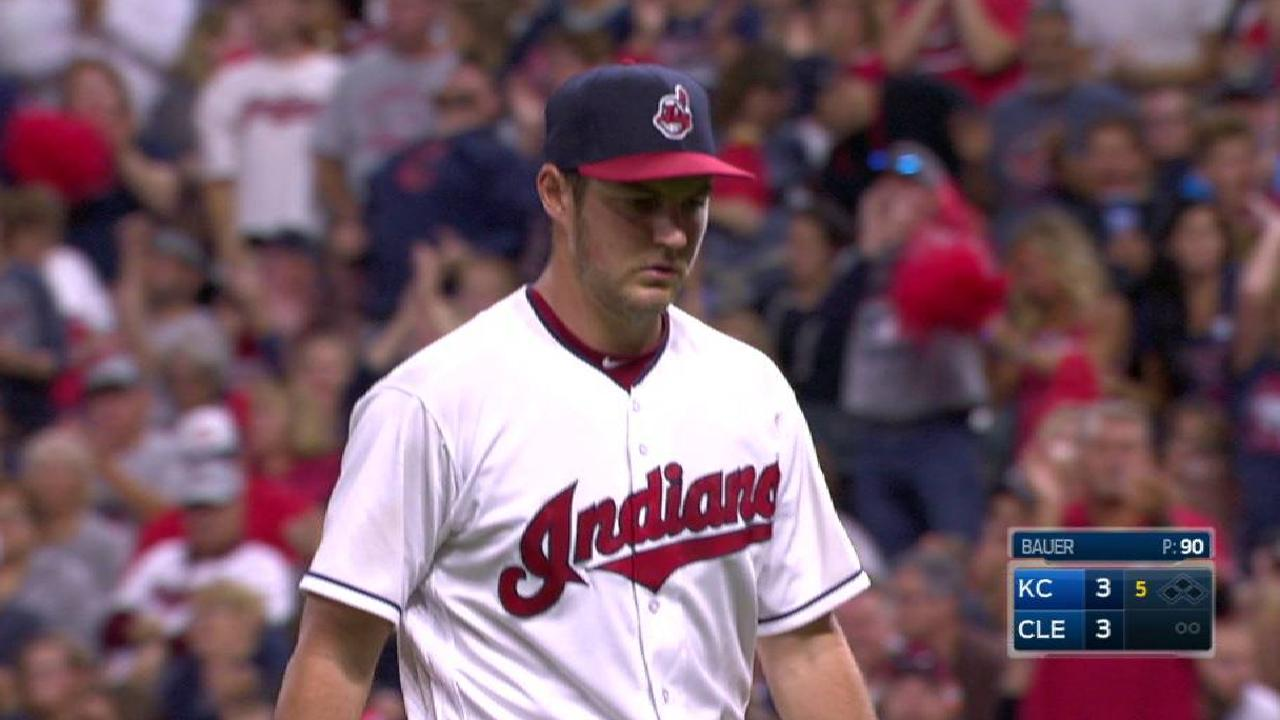 Bauer strikes out Moss