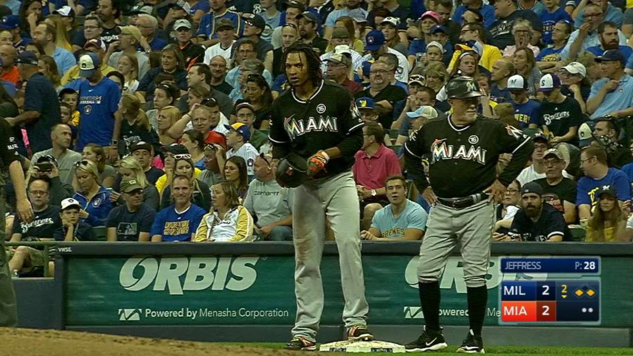 8-run 8th sinks 'host' Marlins as skid continues